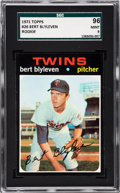 Baseball Cards:Singles (1970-Now), 1971 Topps Bert Blyleven #26 SGC 96 Mint 9 - Pop Three, One Higher. ...