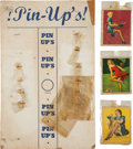 "Non-Sport Cards:Singles (Pre-1950), 1944 R59 Gum Inc. American Beauties ""Pin-Up's!"" Store Display. ..."