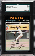 Baseball Cards:Singles (1970-Now), 1971 Topps Nolan Ryan #513 SGC 96 Mint 9 - None Higher. ...
