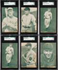 Baseball Cards:Lots, 1927 Exhibit Baseball Collection (42). ...
