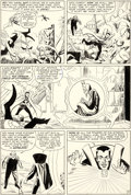Original Comic Art:Panel Pages, Steve Ditko and George Roussos (as Geo. Bell) Strange Tales #125 Story Page 7 Doctor Strange Original Art (Marvel,...