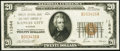 National Bank Notes:Missouri, Kansas City, MO - $20 1929 Ty. 1 Fidelity NB & TC Ch. # 11344....