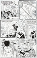 Original Comic Art:Panel Pages, Ron Frenz and Sal Buscema Adventures of Superman #572 Partial Story Original Art Group of 4 (DC, 1999).... (Total: 4 Original Art)