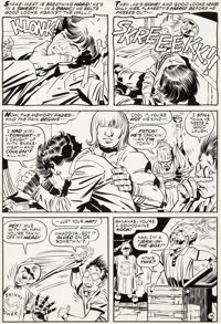 Jack Kirby and Mike Royer - Dingbats of Danger Street Unpublished Page 14 Original Art (DC, 1975)
