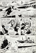 Original Comic Art:Panel Pages, George Tuska and John Tartaglione X-Men #43 Page 11 Original Art (Marvel, 1968)....