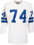 Football Collectibles:Uniforms, Early 1970's Bob Lilly Game Worn Dallas Cowboys Jersey. ...