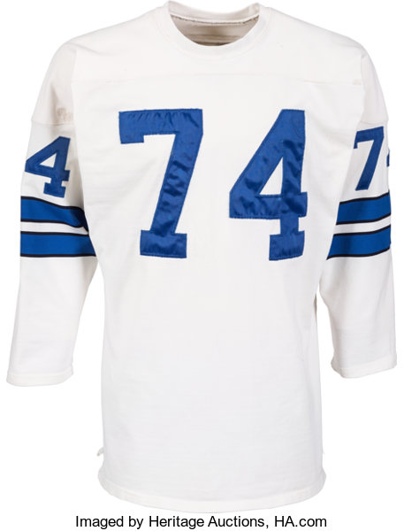 sneakers for cheap 94b89 31e0a Early 1970's Bob Lilly Game Worn Dallas Cowboys Jersey ...