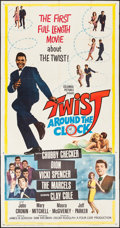 """Movie Posters:Rock and Roll, Twist Around the Clock (Columbia, 1961). Three Sheet (40.5"""" X78.5""""). Rock and Roll.. ..."""