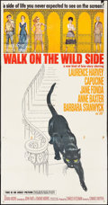 "Movie Posters:Drama, Walk On The Wild Side (Columbia, 1962). Three Sheet (41"" X 79"").Drama.. ..."