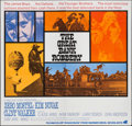 "Movie Posters:Western, The Great Bank Robbery (Warner Brothers-Seven Arts, 1969). International Six Sheet (77"" X 79.5""). Western.. ..."