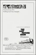 "Movie Posters:Drama, The Last Picture Show (Columbia, 1971). One Sheet (27"" X 41"").Drama.. ..."
