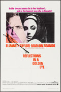 "Movie Posters:Drama, Reflections in a Golden Eye (Warner Brothers, 1967). One Sheet (27""X 41""). Drama.. ..."