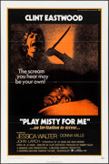 "Movie Posters:Thriller, Play Misty For Me (Universal, 1971). One Sheet (27"" X 41""). Thriller.. ..."