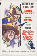 """Movie Posters:Western, The Man Who Shot Liberty Valance (Paramount, 1962). One Sheet (27"""" X 41""""). Western.. ..."""