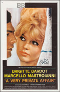 "Movie Posters:Foreign, A Very Private Affair (MGM, 1962). One Sheet (27"" X 41""). Foreign.. ..."
