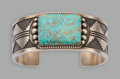 American Indian Art:Jewelry and Silverwork, A Large Navajo Bracelet. Ernest Roy Begay. ...
