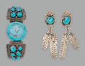 Other, Two Navajo Jewelry Items... (Total: 2 )