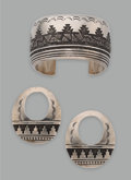 Jewelry:Suites, A Navajo Jewelry Suite. Thomas Singer... (Total: 2 )