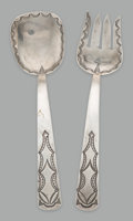 Other, A Pair of Navajo Serving Implements...