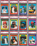 Baseball Cards:Sets, 1975 O-Pee-Chee Baseball High Grade Near Set (640/660)....