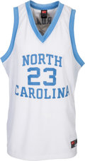 Basketball Collectibles:Uniforms, 2000's Michael Jordan Signed North Carolina Tarheels UDA Jersey....