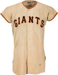 "Baseball Collectibles:Uniforms, 1951 Roger Bowman Game Worn New York Giants Jersey - Thomson's ""Shot"" Season. ..."