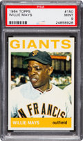 Baseball Cards:Singles (1960-1969), 1964 Topps Willie Mays #150 PSA Mint 9....