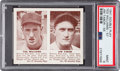 Baseball Cards:Singles (1940-1949), 1941 R330 Double Play Ted Williams/Tabor #57/58 PSA Mint 9 - PopTwo, None Higher. ...
