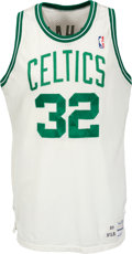 Basketball Collectibles:Uniforms, 1989-90 Kevin McHale Game Worn Boston Celtics Jersey....