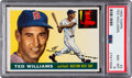 Baseball Cards:Singles (1950-1959), 1955 Topps Ted Williams #2 PSA NM-MT 8....