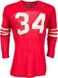 Football Collectibles:Uniforms, Circa 1956 Joe Perry Game Worn San Francisco 49ers Jersey....