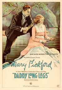 "Daddy Long Legs (First National, 1919). One Sheet (28.25"" X 41"")"