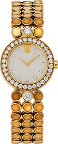 Estate Jewelry:Watches, Harry Winston Lady's Diamond, Gold Classique Watch. ...