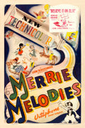 "Movie Posters:Animation, Merrie Melodies (Warner Brothers, 1939). Stock One Sheet (27"" X 41"") ""Believe It or Else."". ..."