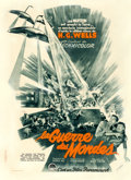 "Movie Posters:Science Fiction, The War of the Worlds (Paramount, 1953). French Moyenne (23"" X31.75"") Claude Venin Artwork.. ..."