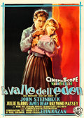 "Movie Posters:Drama, East of Eden (Warner Brothers, R-1959). Italian 2 - Fogli (39.25"" X54.75"") Luigi Martinati Artwork.. ..."