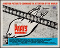 "Movie Posters:War, Is Paris Burning? & Other Lot (Paramount, 1966). Half Sheet(22"" X 28"") & German A1 (23.25"" X 33""). War.. ... (Total: 2Items)"