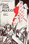 """Movie Posters:Documentary, Que Viva Mexico (Sovexportfilm, R-1979). Argentinean Poster (23.75"""" X 35.25""""). Documentary.. ..."""