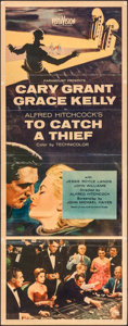 """Movie Posters:Hitchcock, To Catch a Thief (Paramount, 1955). Insert (14"""" X 36""""). Hitchcock....."""