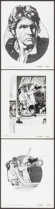"""Movie Posters:Science Fiction, Star Wars (20th Century Fox, 1977). Ad Art Photos (3) (8"""" X 10""""). Science Fiction.. ... (Total: 3 Items)"""