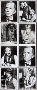 """Movie Posters:Crime, The Sting (Universal, 1973). Photos (8) (8"""" X 10""""). Mini Lobby CardSet of 4 (R-1977) (8"""" X 10"""") Crime.. ... (Total: 12 Items)"""
