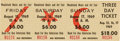 Music Memorabilia:Tickets, Woodstock Music and Art Fair - Unused Three-Day Ticket (1969)....
