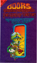 Music Memorabilia:Posters, Doors Denver family Dog Concert Poster FDD-18 First Printing(Family Dog, 1967)....
