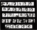 Music Memorabilia:Photos, Doors - Jim Morrison Contact Sheet by Joel Brodsky (1967)....