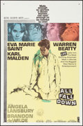 """Movie Posters:Drama, All Fall Down (MGM, 1962). One Sheet (27"""" X 41""""), Lobby Cards (13)(11"""" X 14""""), and Uncut Pressbook (12 Pages, 12.25"""" X 17"""")...(Total: 15 Items)"""