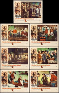 "Movie Posters:Western, The Man Who Shot Liberty Valance (Paramount, 1962). Lobby Cards (7)(11"" X 14""). Western.. ... (Total: 7 Items)"
