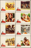"Movie Posters:Action, Hercules Unchained (Warner Brothers, 1959). Lobby Card Set of 8 (11"" X 14""). Action.. ... (Total: 8 Items)"