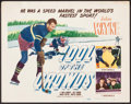 "Movie Posters:Sports, Idol of the Crowds (Realart, R-1948). Title Lobby Card (11"" X 14""). Sports.. ..."