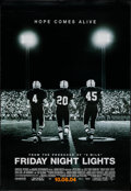 "Movie Posters:Sports, Friday Night Lights (Universal, 2004). Vinyl Subway Banner (48"" X 65.75"") DS Advance. Sports.. ..."