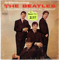 Music Memorabilia:Recordings, Introducing The Beatles Version One Mono US LP (Vee Jay 1062, 1964)....